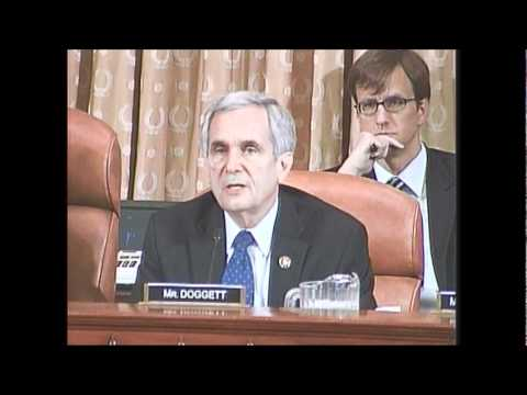 Rep. Doggett on Importance of  Self-Employment Assistance, Job Training  Programs