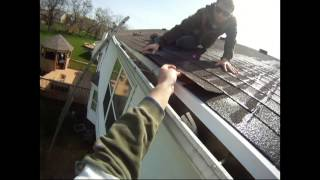 Atlantic Drain ~ Howto Install DRIP STRIP ~ directing water from shingles into the gutter
