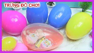 TRỨNG ĐỒ CHƠI  trứng kinder joy Barbie, xe hơi, slime, búp bê em bé, shopkin |đồ chơi trẻ|