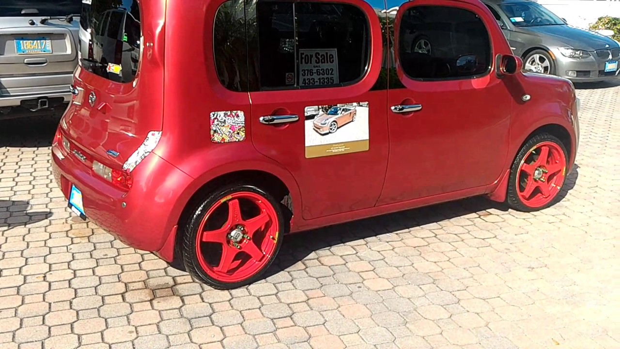 "2009 nissan cube 18"" wheels - youtube"