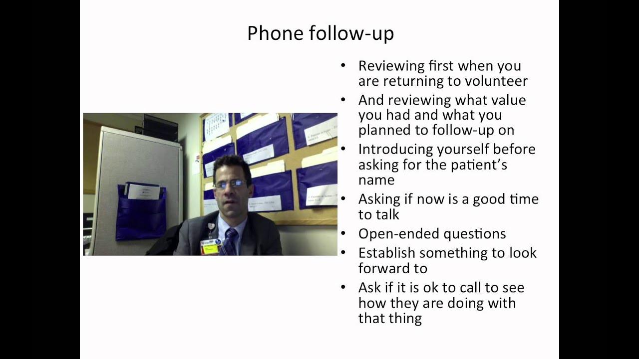 phone call follow up phone call follow up