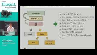 Optimizing networking performance (and HTTP 2.0) - Crash course on web performance (Fluent 2013)