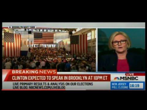 Sen. Claire McCaskill: Clinton clinching Democratic nomination - Rachel Maddow - 7 June 2016 - MSNBC