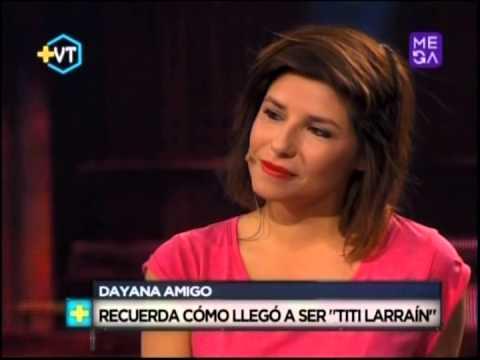 Dayana Amigo recuerda cómo llegó a ser Titi Larraín