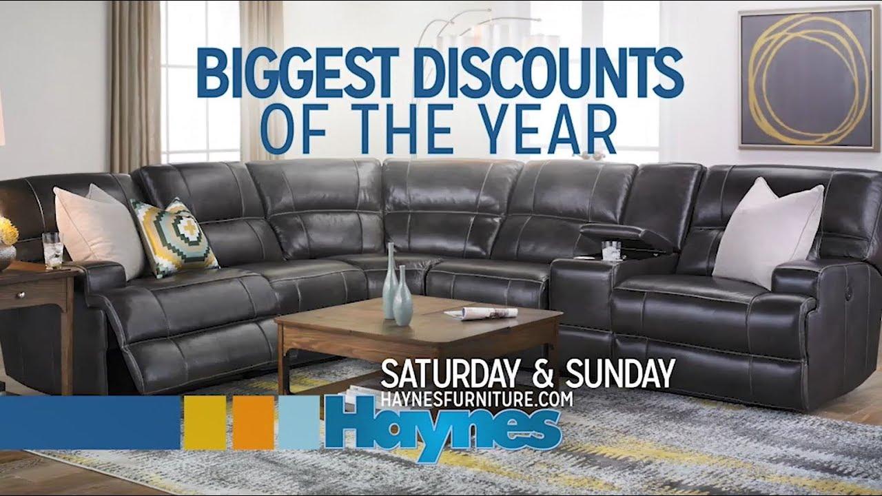 Saturday: Go Big And Go Home. Haynes Furniture Company