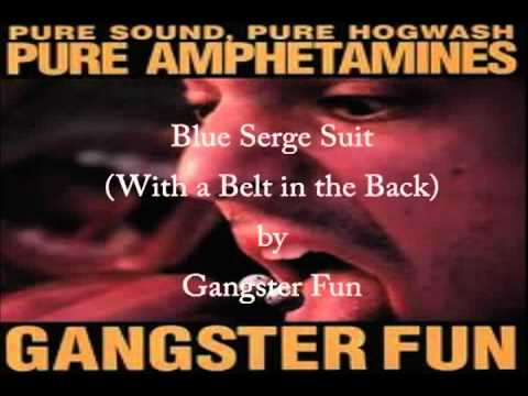 Gangster Fun - Blue Serge Suit