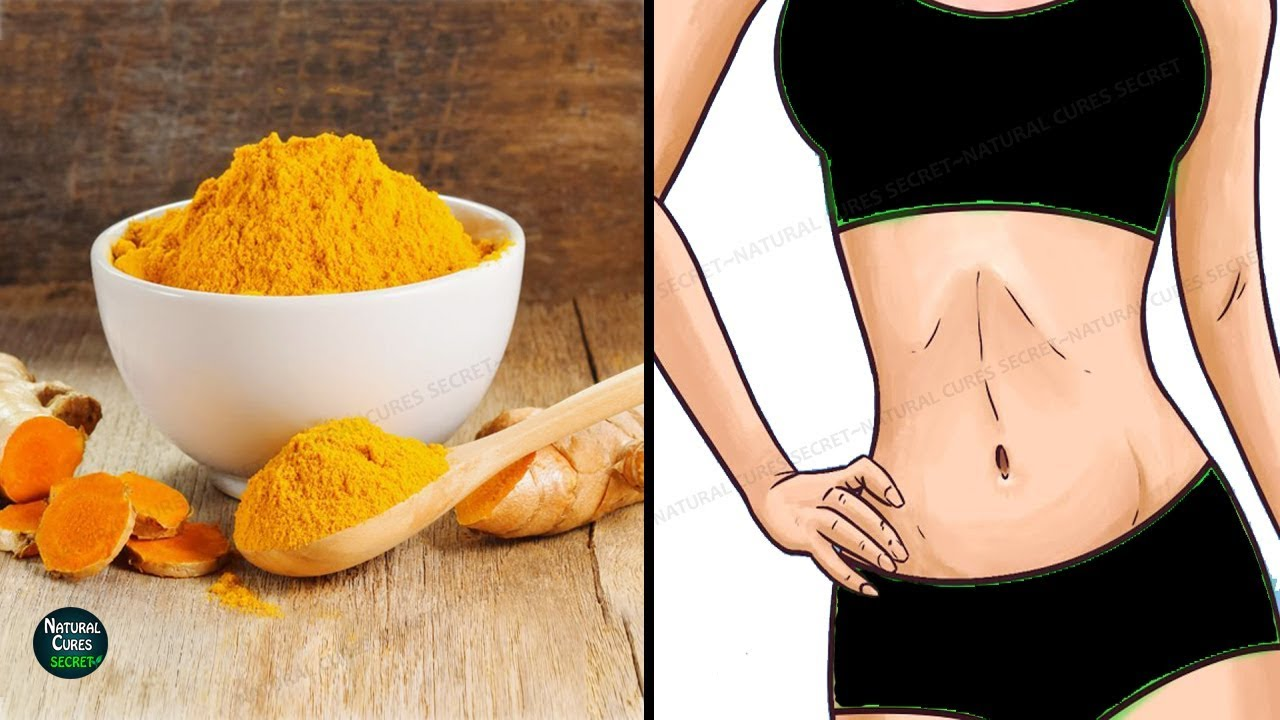 How To Lose Belly Fat In 7 Days With Turmeric Turmeric Benefits