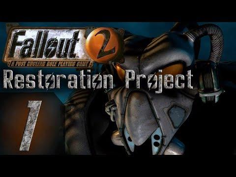 Fallout 2 - Restoration Project - Арройо, Кламат и Дыра - Прохождение #1
