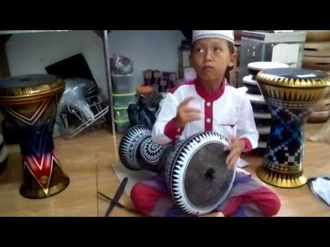 Master syauqi dari Tegal test JT Darbuka