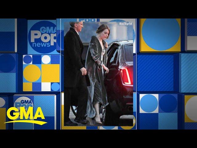 Celebs turn out for Jennifer Lawrence's wedding l GMA