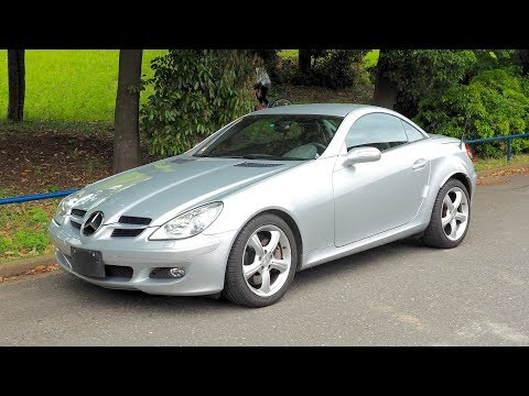 2007 Mercedes Benz SLK350 (Germany Import) Japan Auction Purchase Review