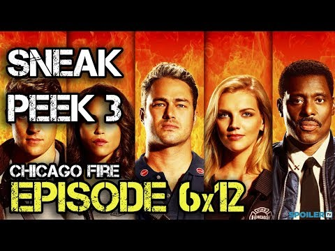 """Chicago Fire  6x12 Sneak Peek 3 """"The F Is For"""" Season 6 Episode 12"""