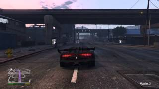 GTA V Modifiyeli Araba Parçalama-Zentorno