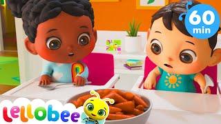 Yes Yes Vegetables + More Nursery Rhymes & Kids Songs - Little Baby Bum