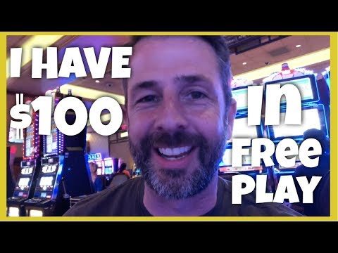 HOW SHALL I USE MY $100 In FREE PLAY? 10 SLOTS MACHINES, 10 SPINS EACH!