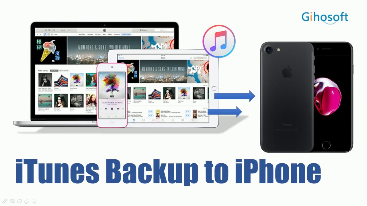 how to save data on iphone how to transfer data from itunes backup to iphone 6 6s 7 19048