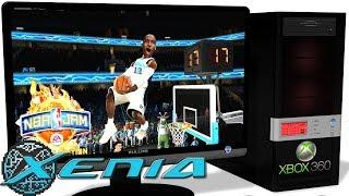 XENIA Xbox 360 Emulator - NBA Jam: On Fire Edition (2011). Ingame. Vulkan #1