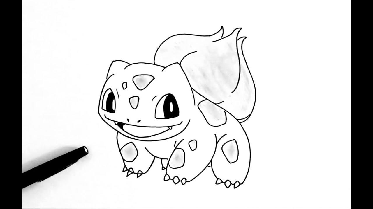 Comment Dessiner Bulbizarre Pokemon Youtube