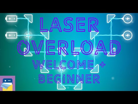 Laser Overload: Welcome + Beginner Levels Walkthrough Guide & iOS/Android Gameplay (by Tap Anywhere)
