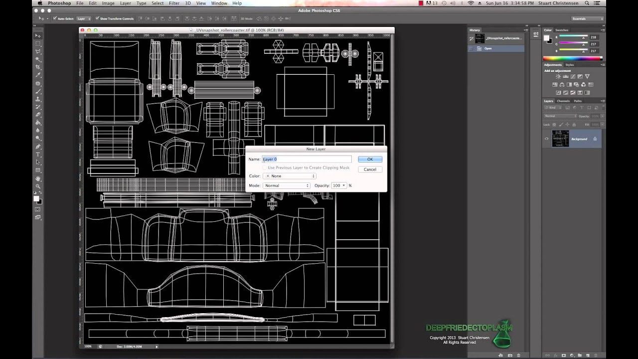Maya 2014 Texture Tip for UV Mapping Tutorial by Stuart