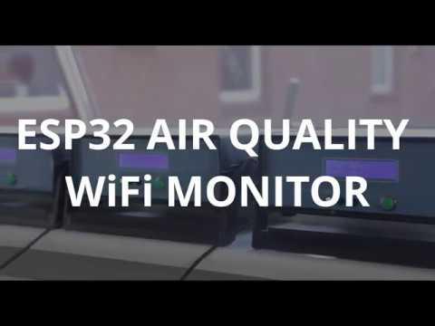 ESP32 Air Quality Monitor - jpralves net