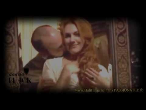 Halit Ergenc- Meryem Uzerli SULEYMAN & HURREM...... 3 seasons kissing and melting !!!!!