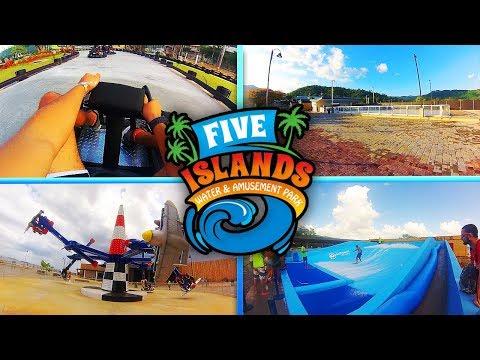Five Islands Water & Amusement Park Trinidad Chaguaramas - *SUMMER EDIT 2017!*