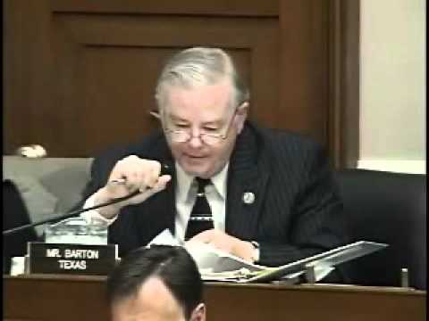 Energy Tax Prevention Act: Rep. Barton says EPA putting economy in a straightjacket