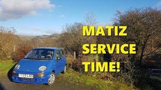Daewoo Matiz - simple service