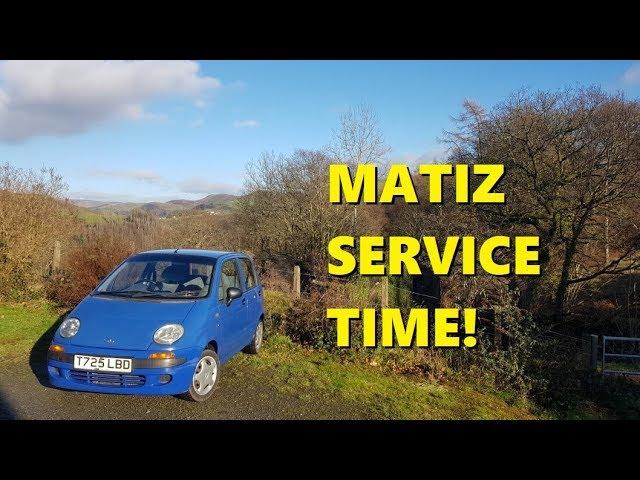 Daewoo Matiz Simple Service Youtube
