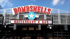 🍽️🍹🍺 Bombshells Restaurant Houston Texas 45 Woodlands
