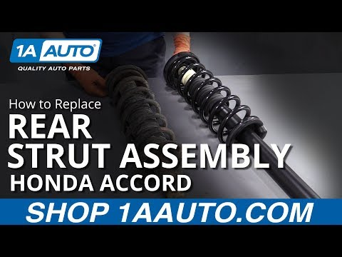 How to Replace Rear Struts 03-07 Honda Accord