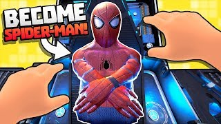 WHAT'S IT LIKE TO BECOME SPIDERMAN IN VR?! || Spider-Man: Homecoming VR HTC Vive Pro Gameplay