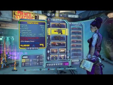 Borderlands 2 Modded Character Any Level!!...