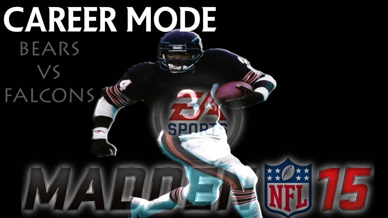 Madden nfl 15 gameplay walter payton career mode bears vs falcons xbox one youtube - Walter payton madden 15 ...