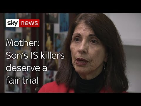 Mother of IS victim says killers should be spared Guantanamo Bay
