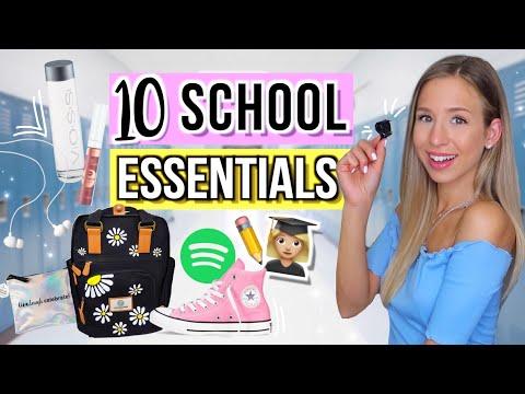 BACK TO SCHOOL ESSENTIALS 🎓🔟Dinge Du Brauchst! Back To School 2019 Cali Kessy