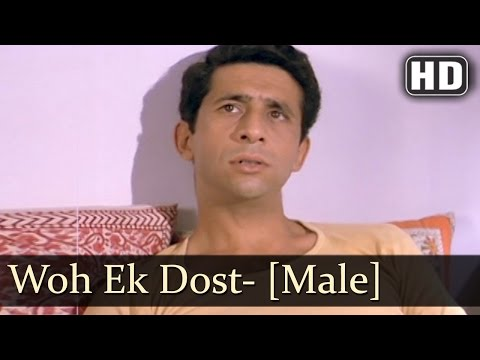 Woh Ek Dost- Male | Surkhiyaan - The Headlines Songs | Nasee