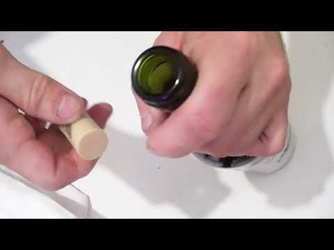 3 способа Как открыть бутылку вина без штопора видео рецепт