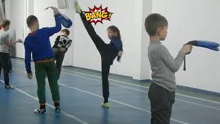 Taekwondo Tones and I dance monkey Тхэквондо дети спорт