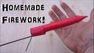 Easy Homemade Firework! (Experiment)