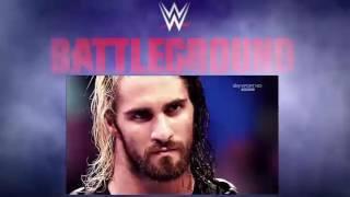 WWE Battleground 2016 | Pre-Match Promo Ambrose vs Rollins vs Reigns