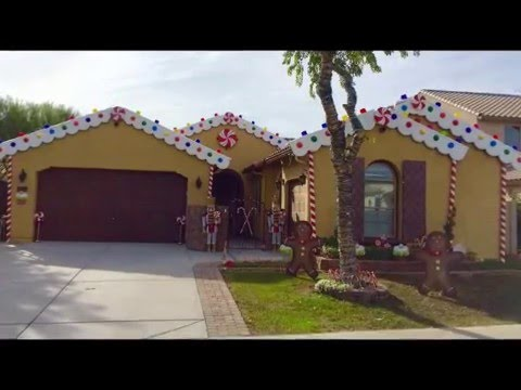 diy christmas decorating ideas gingerbread house candyland theme youtube - Gingerbread Outdoor Christmas Decorations