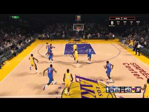 NBA2K15 MyCareer S4 G24 - LAL vs DET