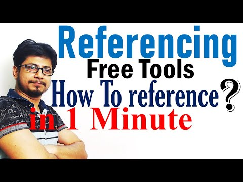 Free Referencing Tool Online To Reference In One Minute | Harvard, Vancouver, MLA Style, APA Style