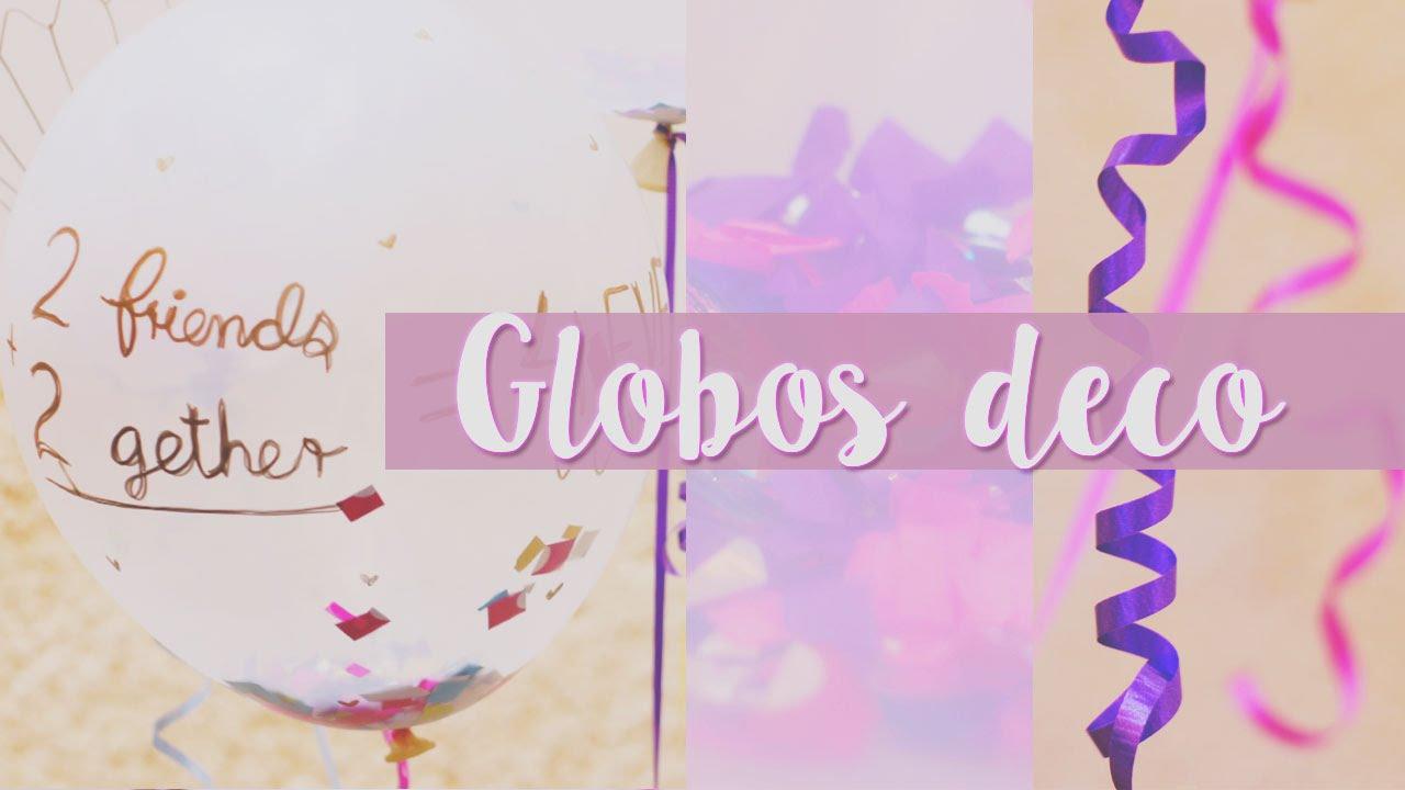 Globos para cumplea os colorido y nico craftingeek youtube - Globos de cumpleanos ...