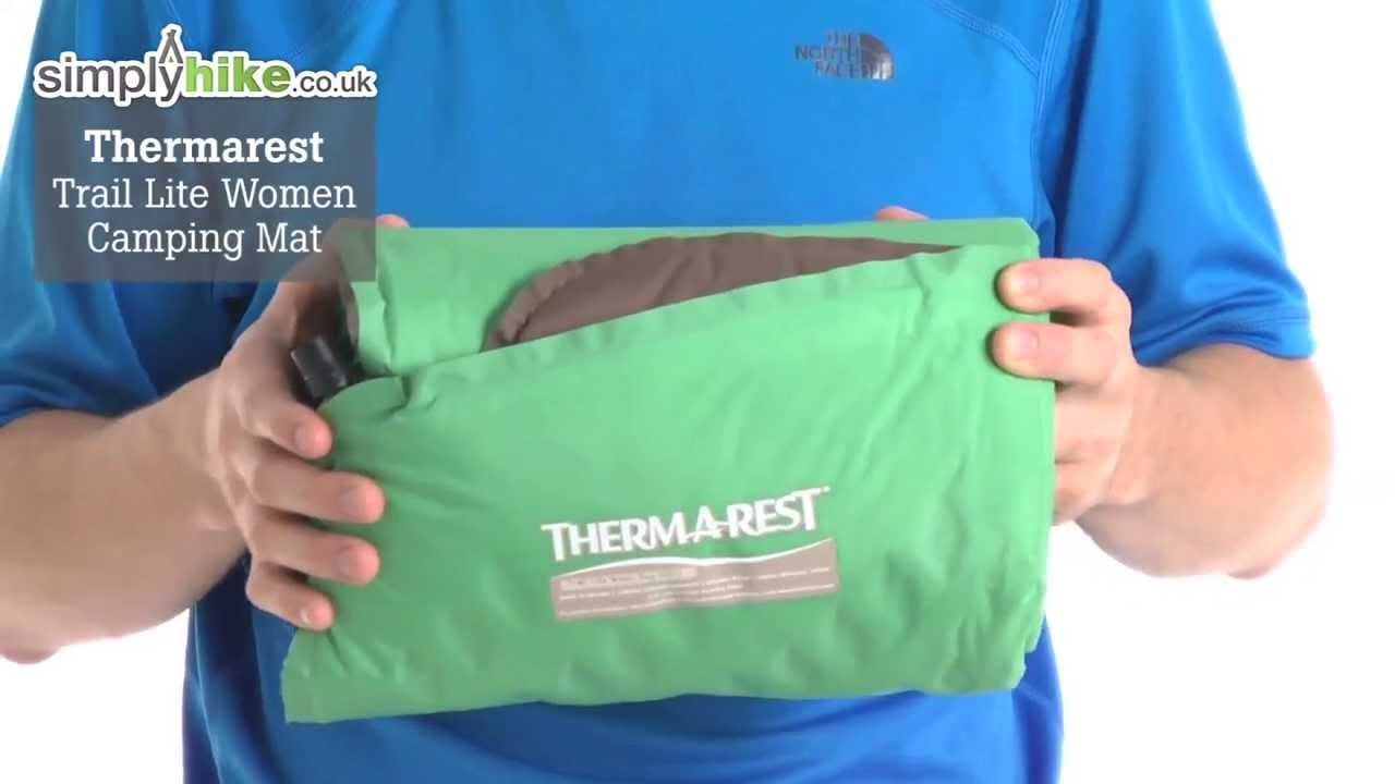 thermarest trail lite women camping mat youtube. Black Bedroom Furniture Sets. Home Design Ideas