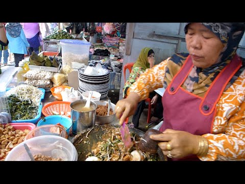 Rojak Lontong Jawa / Rujak Cingur @ Pasar Chow Kit, Kuala Lumpur