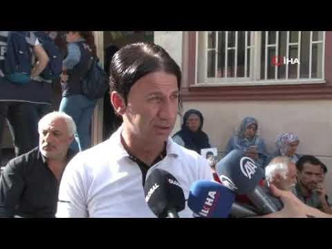 HDP önünde eylem yapan aile sayısı 8'inci günde 19'a yükseldi
