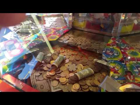 Coin Dozer fun at the Carnival
